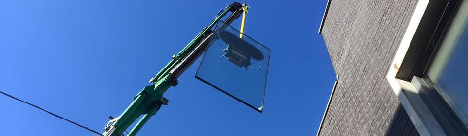 Glas plaatsen